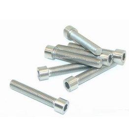 Rovan Cylinder Allen bolt (hexagon socket bolt) silver M3x20 (10 pcs.)