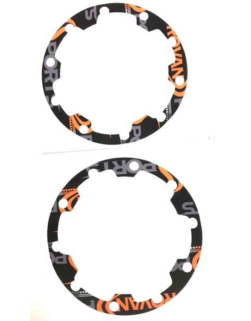 Rovan Beadlock sticker / wheel rim sticker (set of 4pc.) for LT/VS/5S/F5/BAHA