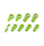 Rovan Sports BAHA HD Nylon Rod end set / kogelgewricht kit in verschillende kleuren
