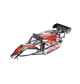 Rovan BAHA GT roll cage PC material set tail version (in red, blue or carbon fiber color)