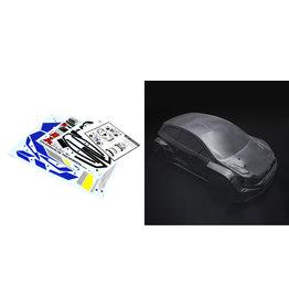 Rovan RF5 transparante body / RF5 doorzichtige carrosserie met carrosseriestickers