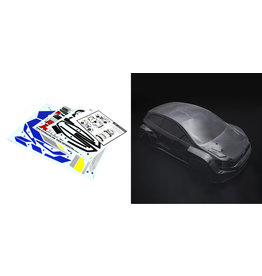 Rovan RF5 transparent car shell / RF5 clear body with body stickers