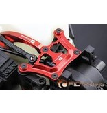 FIDRacing Fid Racing Front top chassis brace   in red and silver