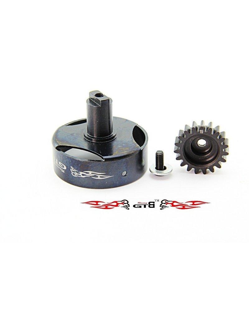 GTBRacing GTB Racing Losi 5ive T CNC clutch housing + 19t. gear