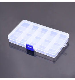RNA Tool  RNA Tool Box A screws and small parts box (15 small intermediate layers) 175*100*23mm