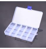 RNA Tool  RNA Tool Box A schroeven- en kleine onderdelen box (15 kleine tussenlagen) 175*100*23mm