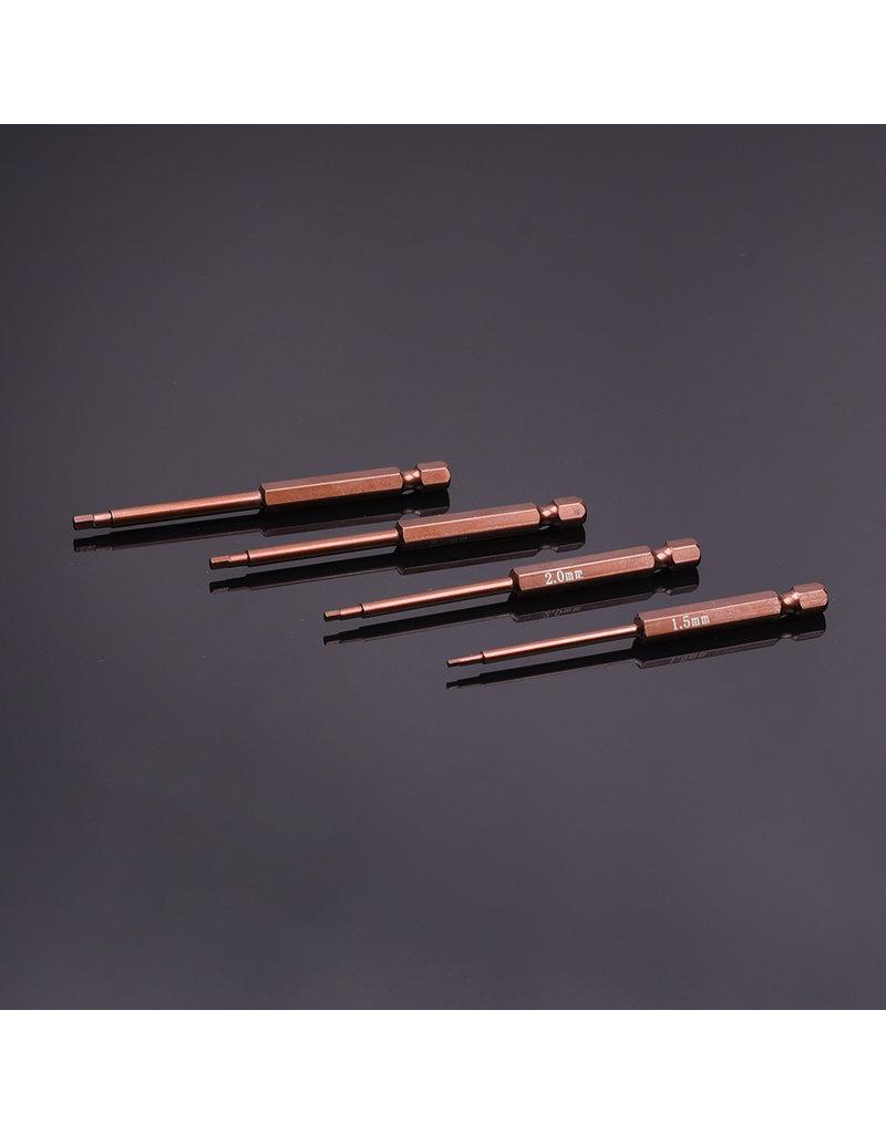 RNA Tool  RNA Tool Tip High Quality 4pcs Hex 1.5/2.0/2.5/3.0mm L=90mm (Integrity)