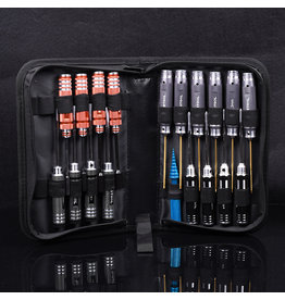 RNA Tool  RNA Tool Black Cat 5518 IMax tool bag including 19-piece set