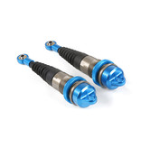 RovanLosi LT / Losi 5ive CNC metalen schokdemper voorzijde met torenstofhoesjes (2 stuks) in de kleur rood, blauw of titanium