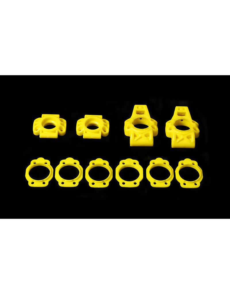 Rovan Sports BAHA HD nylon achterwielophangset / hub carrier set (zonder schroeven) in verschillende kleuren