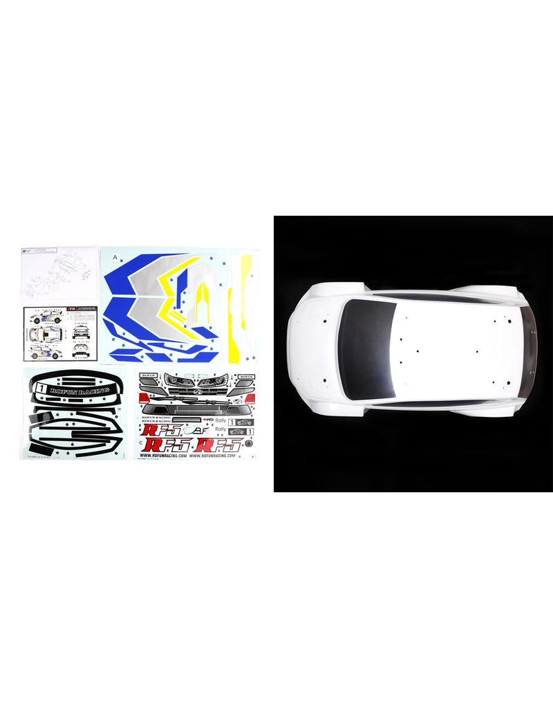 Rovan RF5 witte of grijze body met stickerpakket