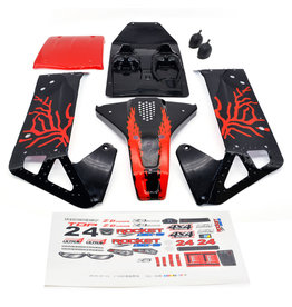 ZD Racing Body shell rood