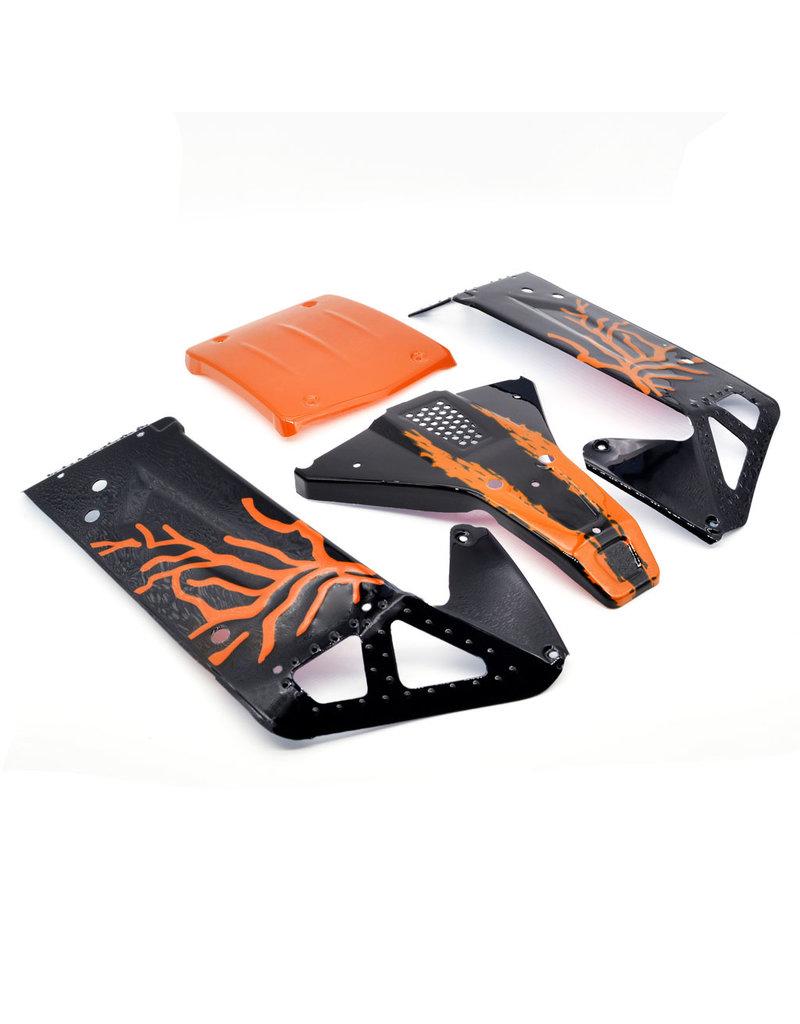ZD Racing Body shell orange