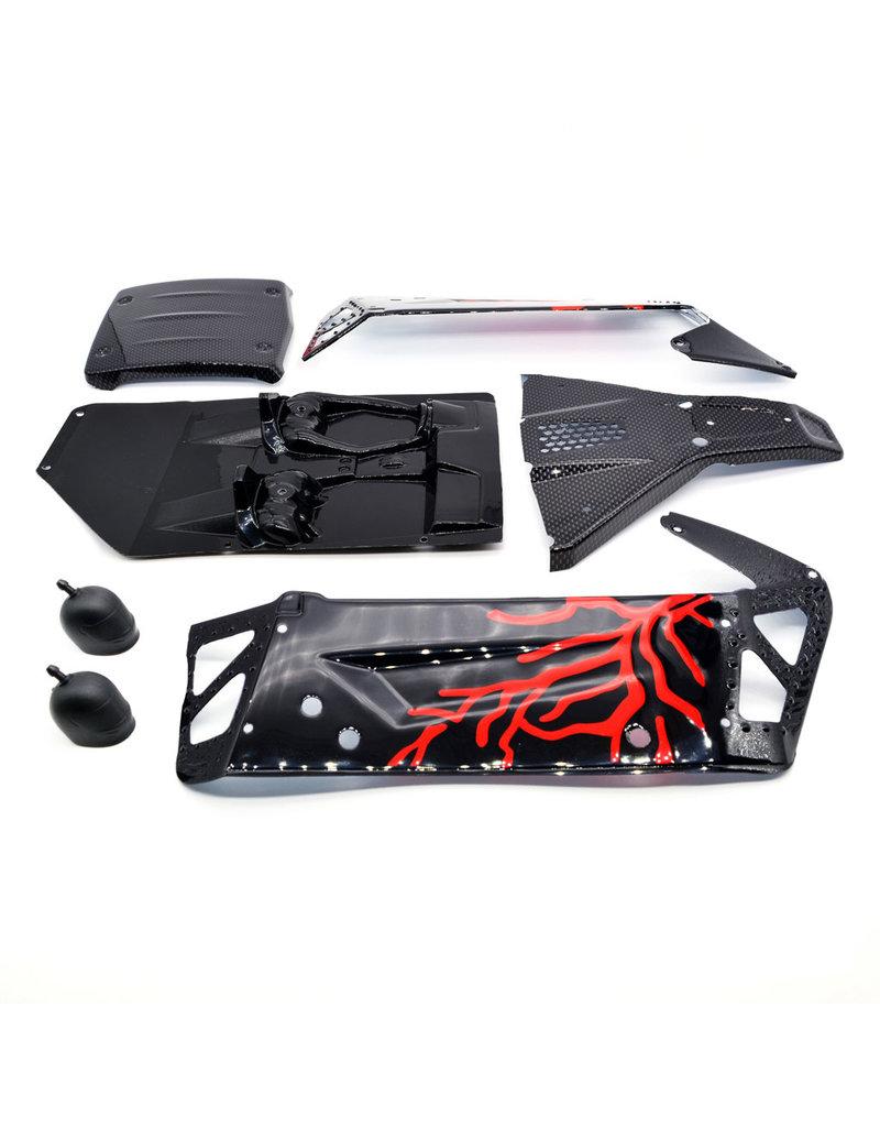 ZD Racing Body shell zwart