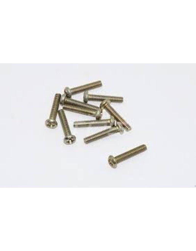 Rovan Cross round head screw M2X8 /Schroef M2x8 (10pcs.)