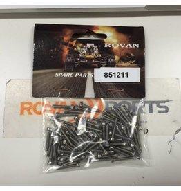 Rovan Sports Silver screws for CNC wheel set