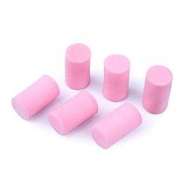 Rovan Pink/Black air filter foam element set for alloy shock cap set (6pc)