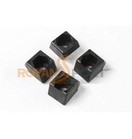 Rovan Front & rear bulkhead nut holder (4pc)