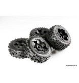 Rovan New knobby wheel set (4pcs/set) 170x80+170x60