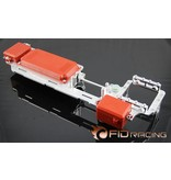 FIDRacing 5ive T Dual radio servo tray V2 savox 0236 servo