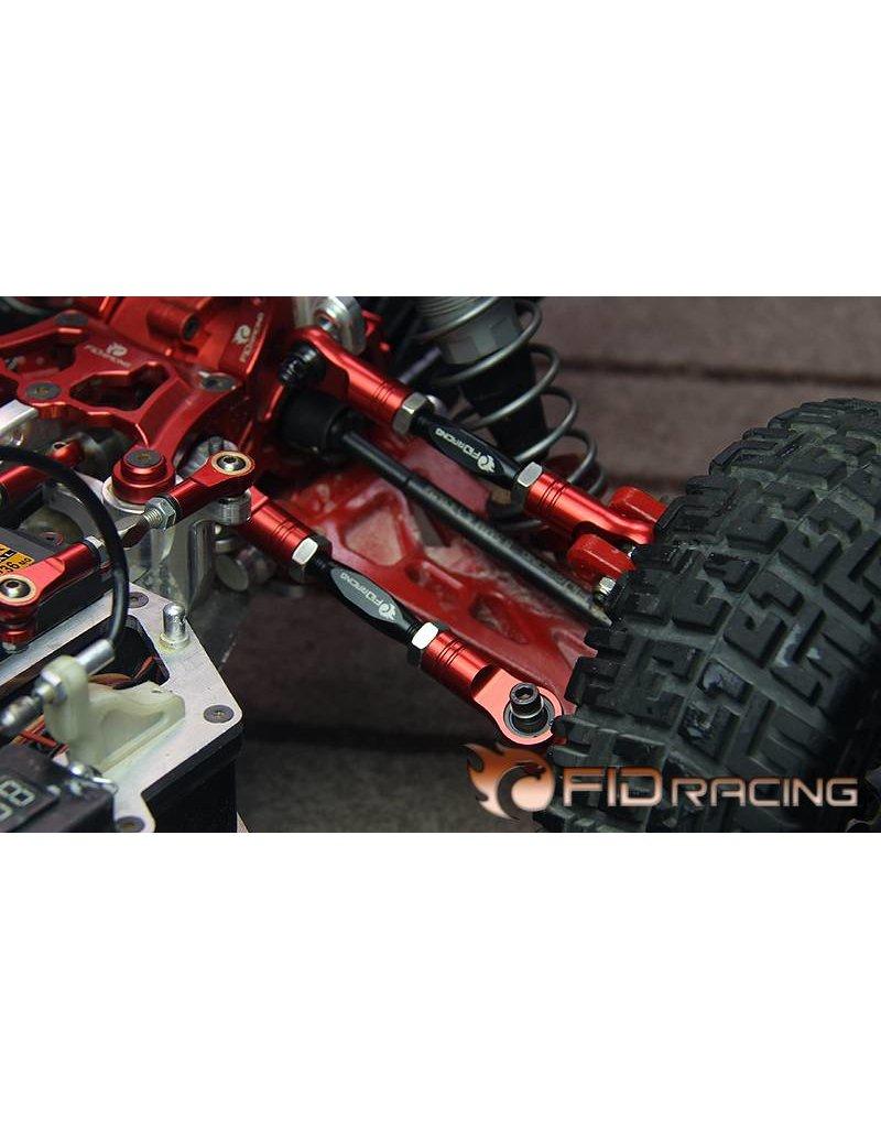 FIDRacing Detachable front/rear upper turnbuckle set(M8 Alloy steel shaft) 1pc.