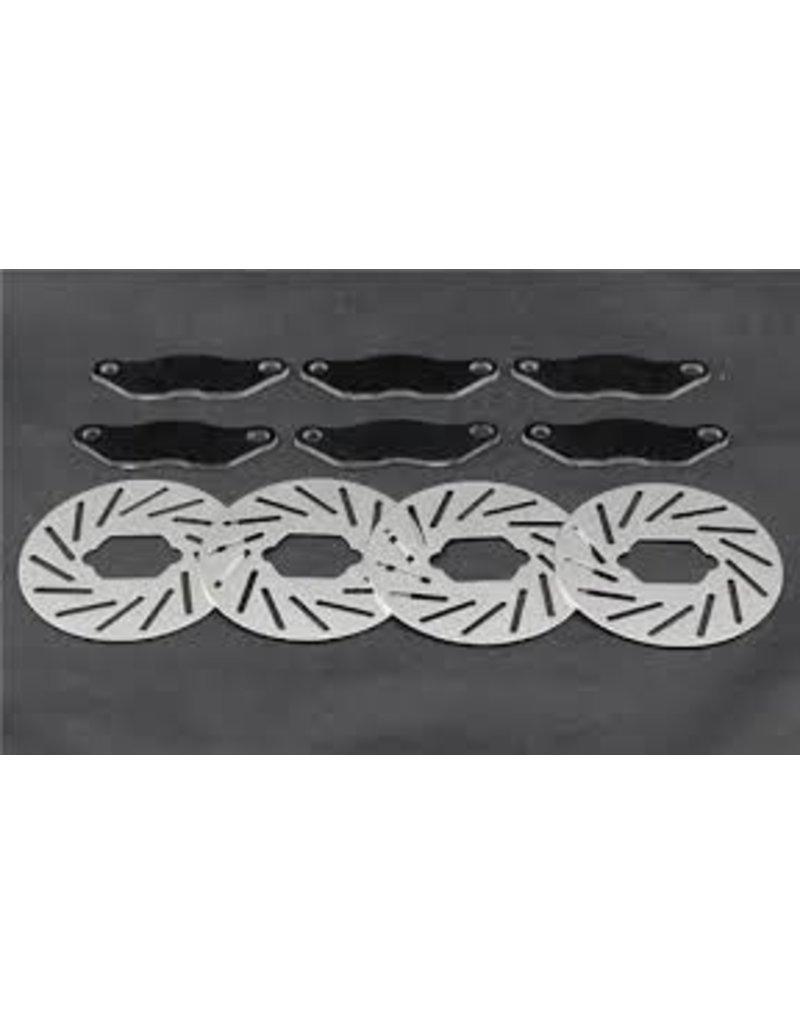 FIDRacing Losi 5ive T brake system