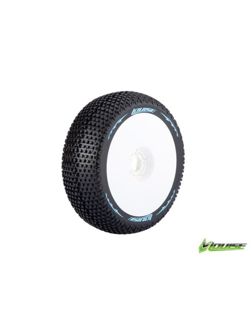 LouiseRC B-Turbo 1/8 Off Road Buggy Tires (set of 2 pieces)