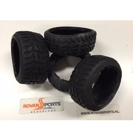 Rovan Sports Highway tire set (4pcs/set) (without inner foam) Tarmac Buster 170x60+170x80