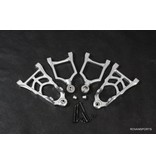 Rovan Sports Front suspension arm kit alu (complete)