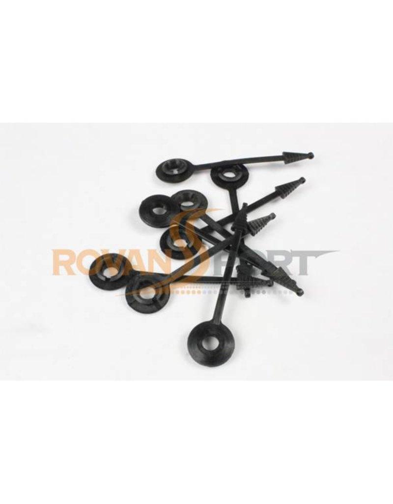 Rovan Sports Body Mount Washer (8pc.) / body clip voor 5T