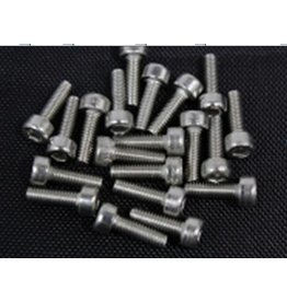 Rovan M2,5 x 8 hex round screws for beadlock rings (10pcs)