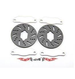GTBRacing 5ive T losi brake system (Steel brake pads + carbon fiber discs)