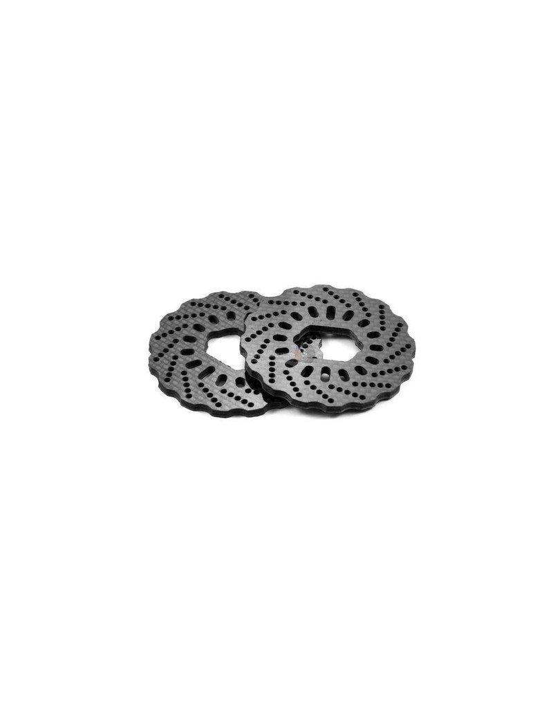 FIDRacing 3mm carbon fiber disk (2pcs)