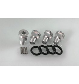 GTBRacing 5ive T Axle Extenders include pins (4pcs.)