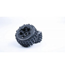 Rovan 5B knobby rear tyres with inside cloth and upgraded waterproof foam 170x80