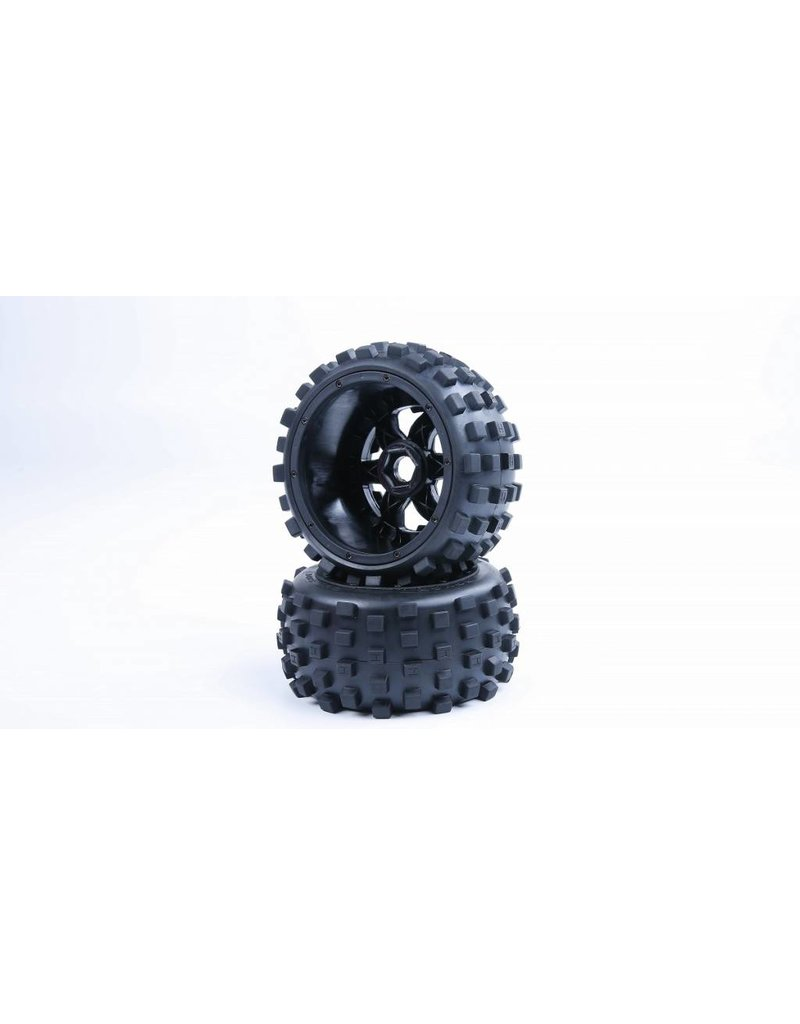 Rovan Sports 5B knobby achter banden met nieuwe hele stevige waterproof inner foam 170x80