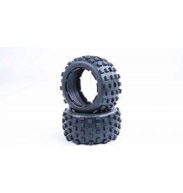 Rovan 5B knobby tyre skin 170x80 2pcs /achterbanden