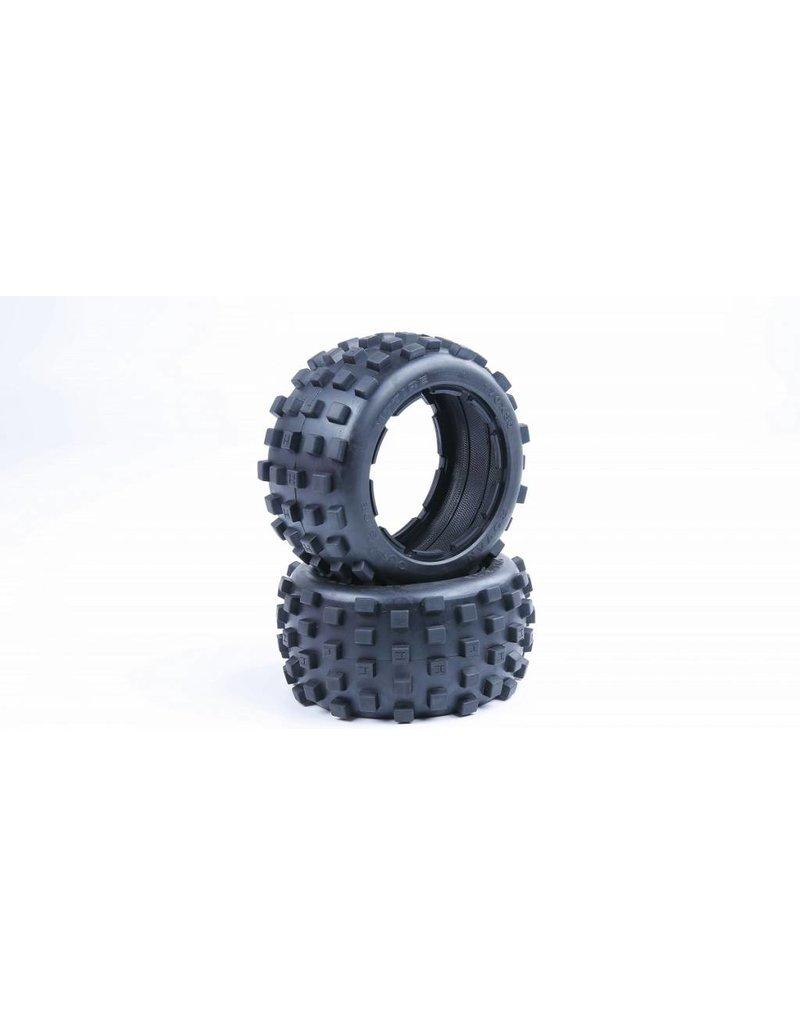 Rovan Sports 5B knobby tyre skin 170x80 2pcs / achterbanden
