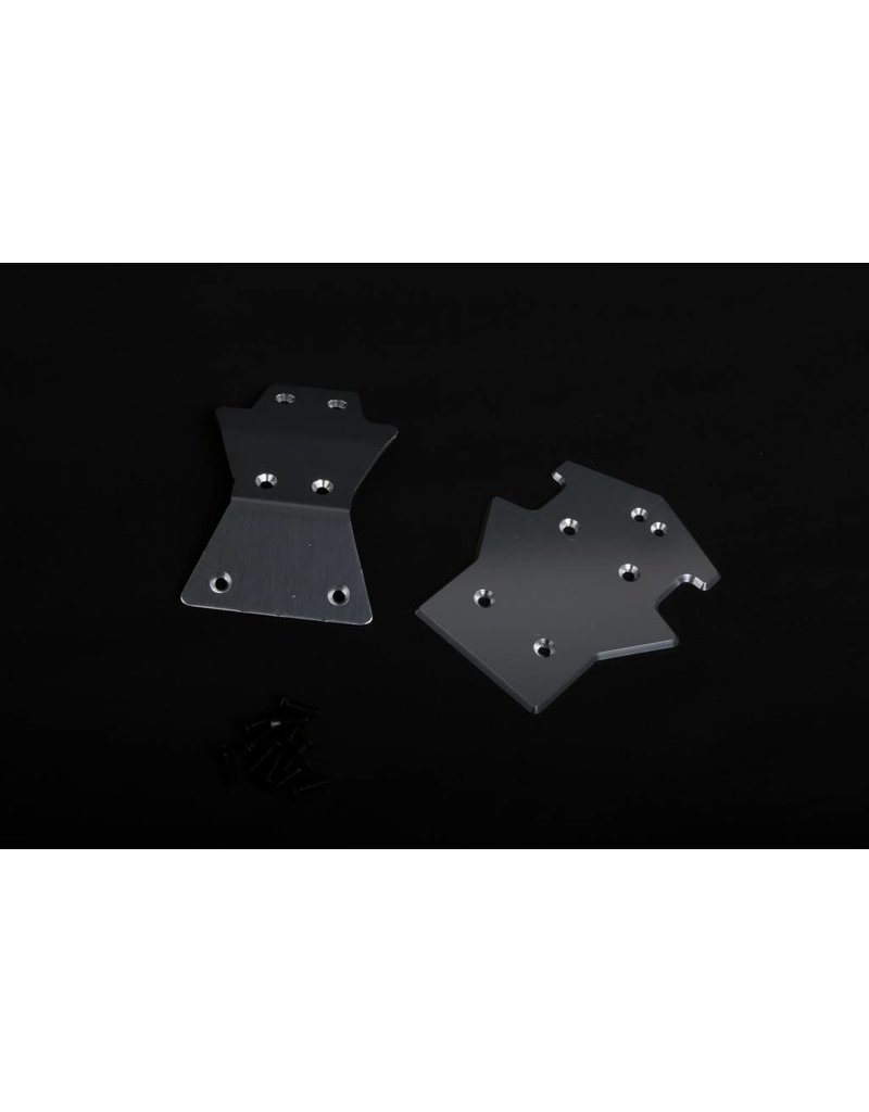 Rovan LT CNC alloy Front eand Rear protection plate