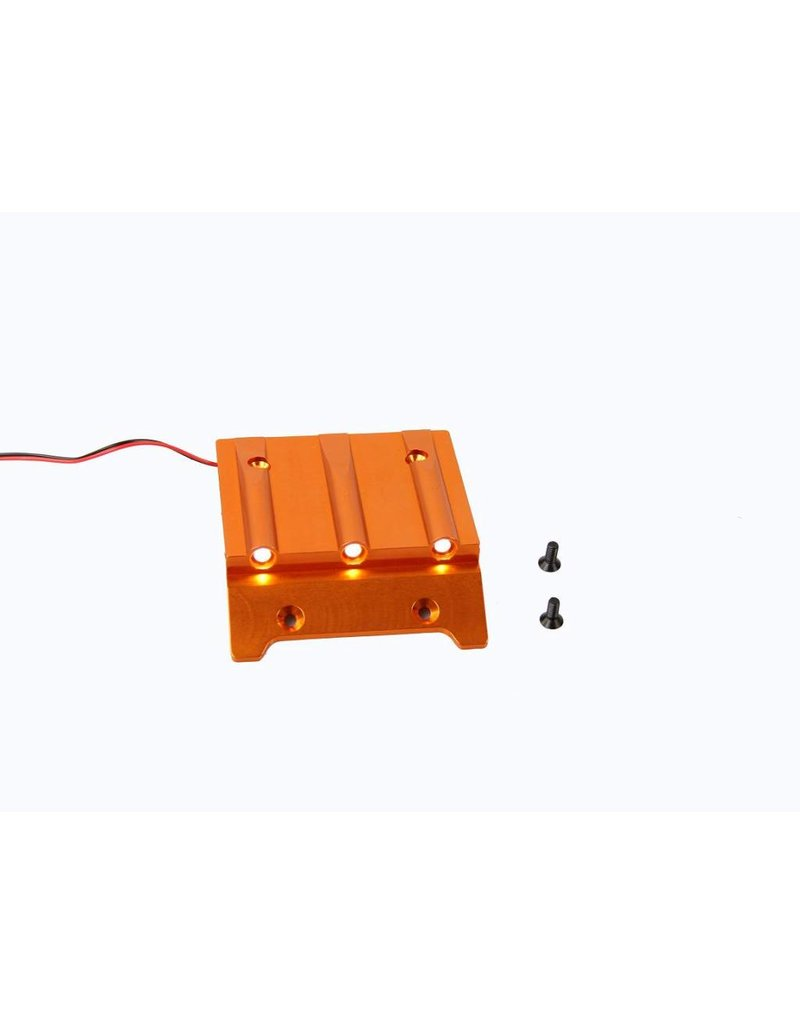 Rovan CNC roof decoration plate with LED lights