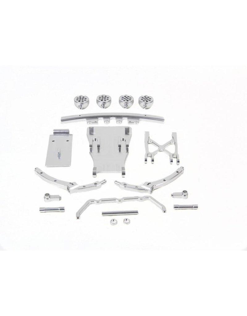 Rovan Sports 5T/5SC CNC Metal front bumper kits