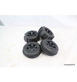 Rovan Sand wheel set(4pcs/set) Sand Buster (170 x 60 + 170 x 80)