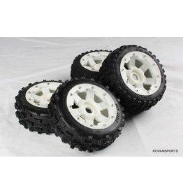 Rovan Sports New knobby wheel set with plastic super star wheel(4pcs/set) 170x60 + 170x80