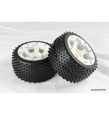 Rovan Sports 5B 2nd gnt high strenght nylon off road wheel rear (2PC)