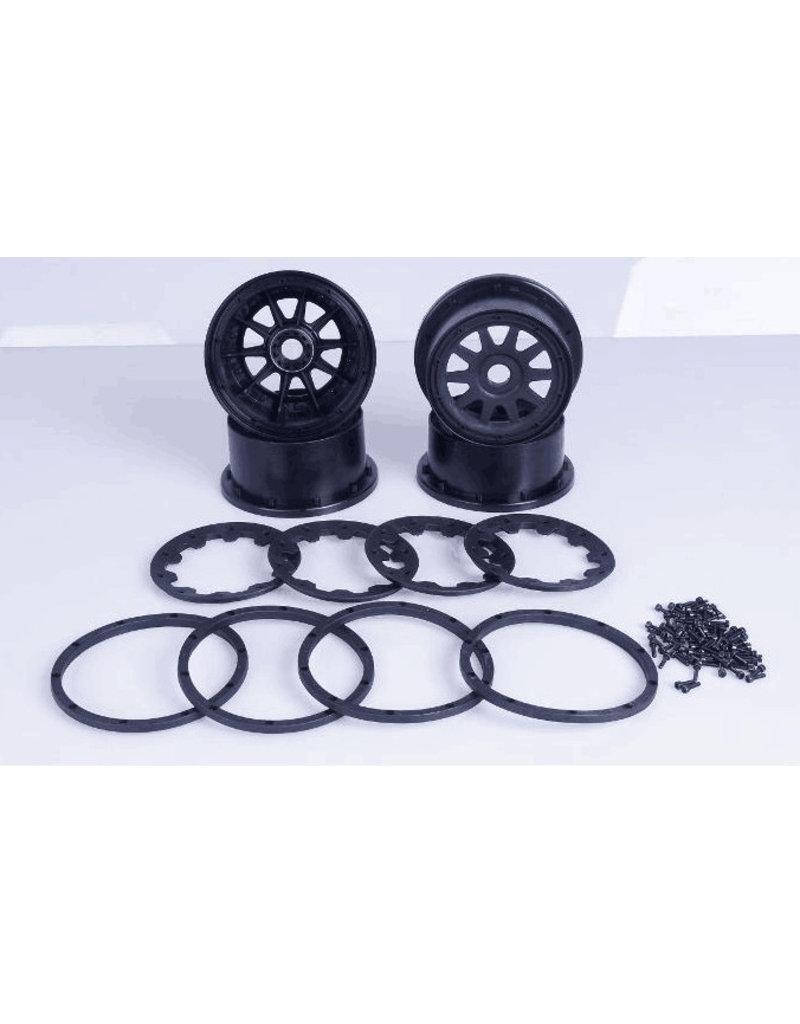 Rovan 5B new upgraded wheel hub and beadlock sets (generation three) 10 spaaks