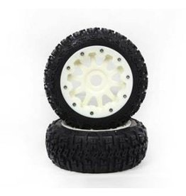 Rovan Sports Front knobby tire set complete Nylon (3rd gen) 5B