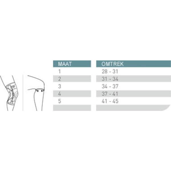 Push Push med knie brace