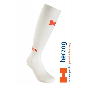 Herzog Medical Herzog Sokken, Pro Compressiekousen Wit