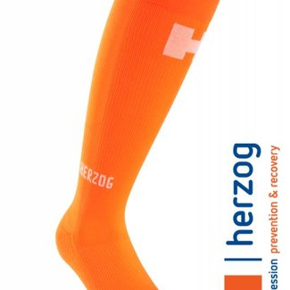 Herzog Medical Herzog Sokken, Pro Compressiekousen Oranje