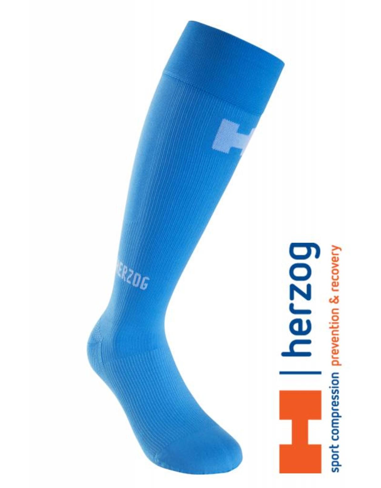 Herzog Sokken,  Pro Compressiekousen Blauw